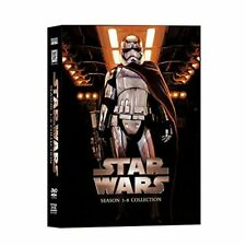 Star Wars Saga Movie Episodes Season 1-8 Complete DVD Set Collection (14-Disc)