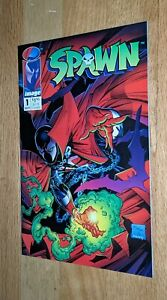 Spawn #1 NM+ Image 1992 Todd McFarlane 1st Issue High Grade Copy!!!