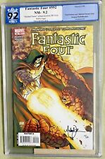 FANTASTIC FOUR #552  SIGNED MICHAEL TURNER 15/20 LIMITED COA PGX 9.2 CAN CGC