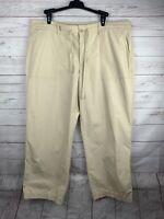 Lauren Ralph Lauren Ladies Khaki Cropped Capri Pants Size 16
