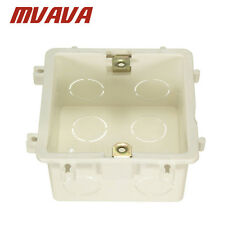 Standard 86*86mm Wall Mounting Light Switch Junction Box Fire Resistance PVC