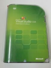 Microsoft Visual Studio 2008 Standard Retail New 127-00166