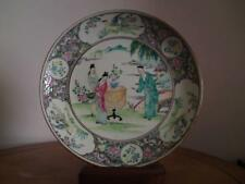 Antique 1930s Japanese Arita Imari Yamatoku Porcelain Plate Dish