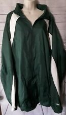 Eastbay Mens Windbreaker Jacket Green White Rare Size 4XL