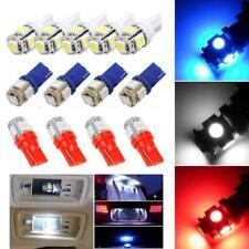10 un. Coche LED Luz Funcional T10 5SMD LED Bombilla de matrícula de coche