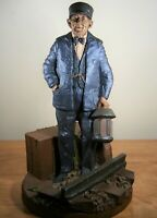 "Tom Clark Gnome Railroad ""Conductor""  #322,  41 Ed., Signed, Retired"