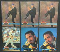 1991 Stadium Club Baseball Nolan Ryan Lot 3 Plus Bonds Puckett Brett Mattingly