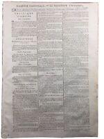 Calendrier Républicain 1793 Robespierre Chouans Vendée Dreux Alençon Révolution