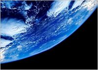 Planet Earth From Space Large Poster Art Print A0 A1 A2 A3 A4 Maxi