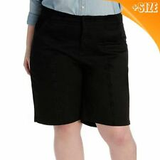 Ladies PLUS  size 22 BLACK PVL  SHORTS NEW Target  work play dressy