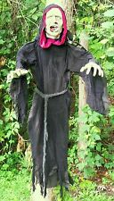 Brand New Hanging Cloaked Zombie Halloween Prop