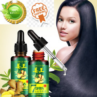 7 DAYS HAIR ESSENTIAL HAIR CARE OIL GINGER ESSENTIAL OIL DRY FOR DAMAGED HAIR