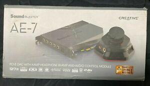 Creative Sound Blaster AE-7 Hi-Res Internal PCIe Sound Card Quad-Core