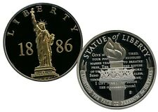 STATUE OF LIBERTY 1886 COMMEMORATIVE GOLD - ACCENTED COIN VALUE $79.95