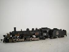 Mantua Steam Logging Locomotive / Malet - custom weathered