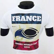 Unifarbene Kurzarm Herren-T-Shirts aus Frankreich