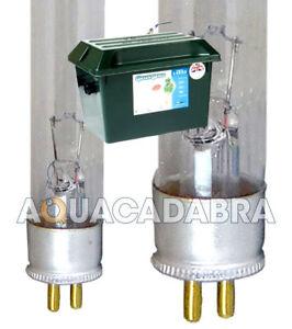 GREEN GENIE UV BULB UVC LAMP TUBE FOR LOTUS FILTER 4W 8W 16W 25W FISH POND
