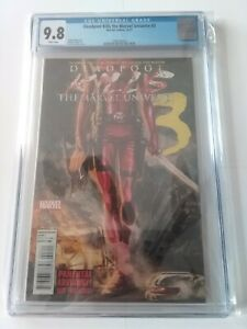 Deadpool Kills the Marvel Universe #3 CGC 9.8