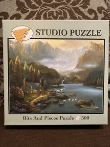 """Bits And Pieces 500 Piece Jigsaw Puzzle """"Heavenly Valley"""""""