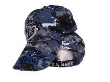 US Navy Seal Anchor Shadow Blue Acu Desert Digital Camo Letter Cap Hat