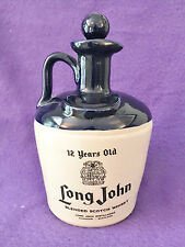 VINTAGE 12 YEAR OLD LONG JOHN BLENDED OLD SCOTCH WHISKY FLAGON - EMPTY