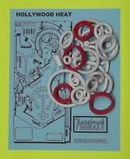 1986 Gottlieb Hollywood Heat pinball rubber ring kit