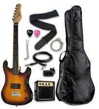 "Raptor 3/4 Scale 36"" Kid's Starter Electric Guitar Pack SUNBURST w/ FREE TUNER"