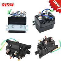Magnetschalter Relais 12V 24V Schwerlastrelais 200 Ampere Winden-Relais