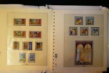 Vatikan, Briefmarken 2001/07, Lindner Seite 137-164,  Nominale (185,00 Euro)