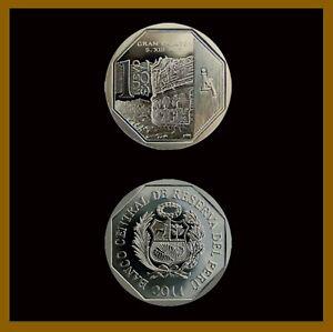 Peru 1 Nuevo Sol Coin, 2011 KM# 361 Commemorative Gran Pajaten Unc