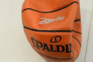 Tyrese Maxey Autographed Basketball 76ers