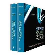 Music in the Social and Behavioral Sciences 2 VOL I II SAGE Publication THOMPSON