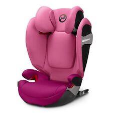 Cybex Gold 518000961 Solution S Fix Passion Seggiolino Auto Rosa Gruppo 2 & 3