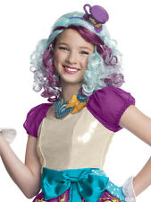 Maddeline Hatter Parrucca Ragazze Costume Ever After High Kids Costume Accessorio