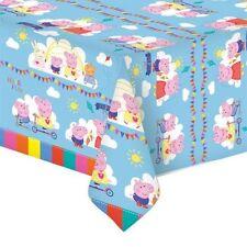 Peppa Pig Plastic Tablecover 138cm X 183cm