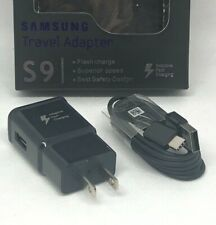 NEW Samsung Original Fast OEM Wall Charger Type C Cable Galaxy Note8 S8 S9 Plus