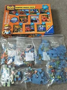 BOB THE BUILDER BUMPER PUZZLE PACK 10-IN-1 RAVENSBURGER SEALED BAG FREEPOST