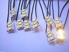 A27 / 10 St .MINI  LED Hausbeleuchtung  Warmweiß  12,5 mm  Beleuchtung mit Kabel