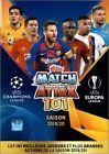 ATLETICO MADRID - CARTE MATCH ATTAX 101 - EUROPA LEAGUE 2019 / 2020 - a choisir