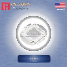 1Pcs 20W Watt High Power 4Pin RGB Tri-Color Common Anode SMD LED Blub Lamp Chip