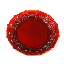 Vintage Avon 1876 Cape Cod Collection Red Dessert Plate (Studio-Box 3-1)
