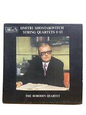 Dmitei Shostakovitch String Quartet 1-13 Vinyl Box Set