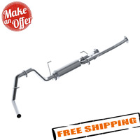"""MBRP S5314P 3"""" Cat Back Exhaust System for 2009-2020 Toyota Tundra 5.7L"""