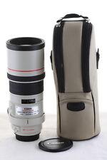 Objectif Canon EF 300mm 1:4 L IS USM pour EOS 750D 80D 70D 7D 5D 1D (lens f/4 f4