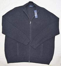 New 6XB 6XL BIG 6X POLO RALPH LAUREN Mens zip up Sweater Cardigan grey jumper RL