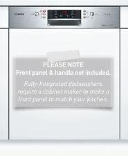 Bosch 60cm Series 4 Semi-Integrated Dishwasher SMI46GS01A