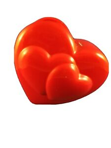 Red Heart Shaped Vase by Teleflora