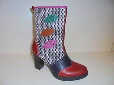 254187 street Damenschuhe Stiefel Boots rot multi Gr. 39