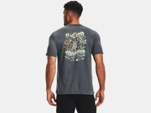 Under Armour Men's UA Aggressive Elk Short Sleeve Graphic T-Shirt SS Elk Tee