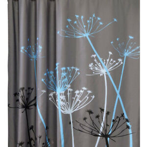 Dandelion Pattern 3D Waterproof Polyester Shower Curtain Bathroom with